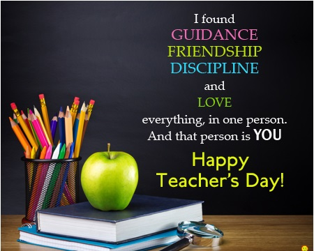 Teachers Day Message