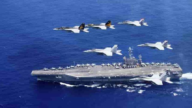EE.UU. envía portaviones nuclear al Golfo Pérsico para amenazar con exterminio a Irán