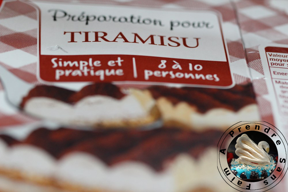 Tiramisu classique express