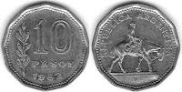 10 pesos argentinos