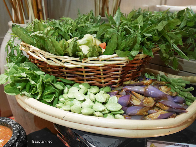 Vegetables for Ulam