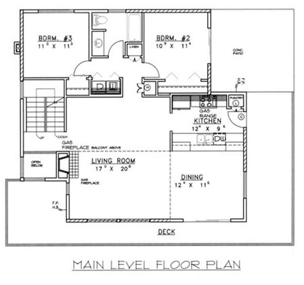 Galeria Arquitectonica: Planos Y Fachada De Una Vivienda Diseñada En 3 Pisos Con