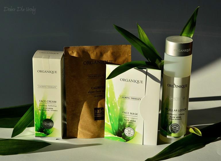 Organique Calming Therapy - Terapia Łagodząca z ekstraktem aloesu w czterech krokach!