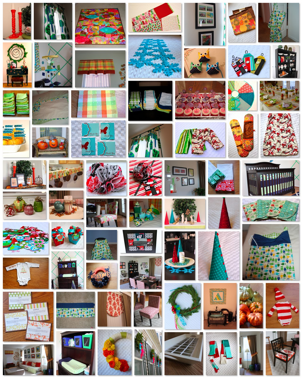 Home Decor Sewing Projects Projects Collage 2011 The Homes I Have Made