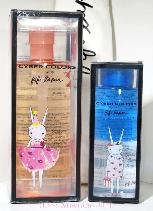 09db899e6aa Bright orange bottle features Fifi Lapin in a red lips patterned flare  dress. Lightweight cleansing oil melts away even waterproof make-up and  clears pores