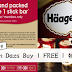 Haagen Dazs Buy 1 FREE 1 特别优惠!
