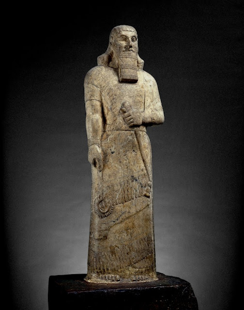 'I am Ashurbanipal king of the world, king of Assyria' at The British Museum