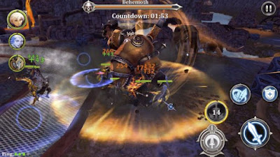 Heroes of Skyrealm Mod Apk v1.2.1 Unlimited High Damage Update terbaru