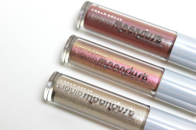 Urban Decay Liquid Moondust Cream Eyeshadow Review