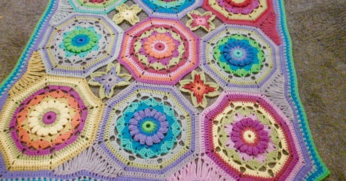 Susan Pinner Secret Garden Blanket Pattern In One Post