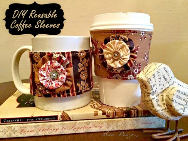 How To Make Reusable Coffee Sleeve Tutorial