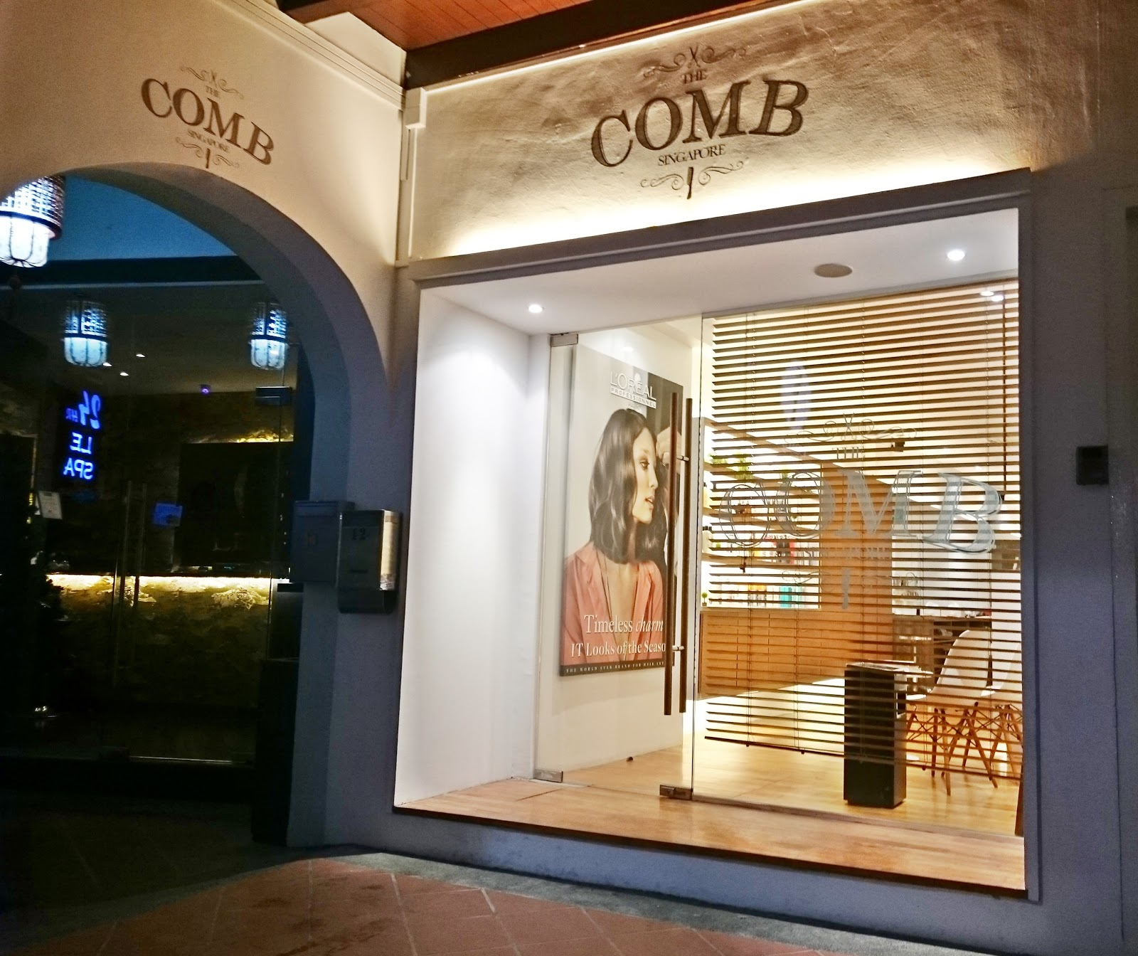 Celeste chua food style travel review the comb - Celeste beauty salon ...