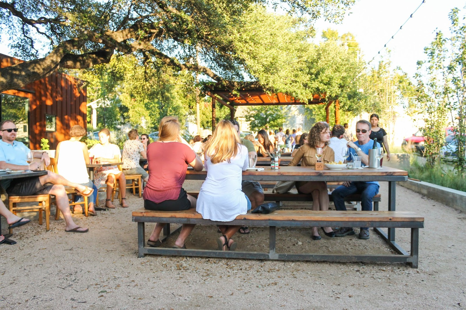texas french bread outdoor seating