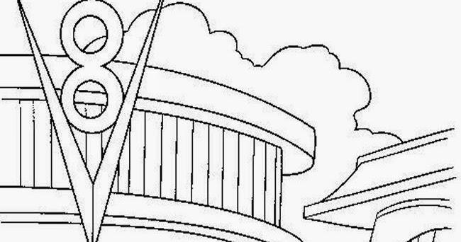 walt disney cars coloring pages | Disney Cars Coloring Pages - Disney Coloring Pages