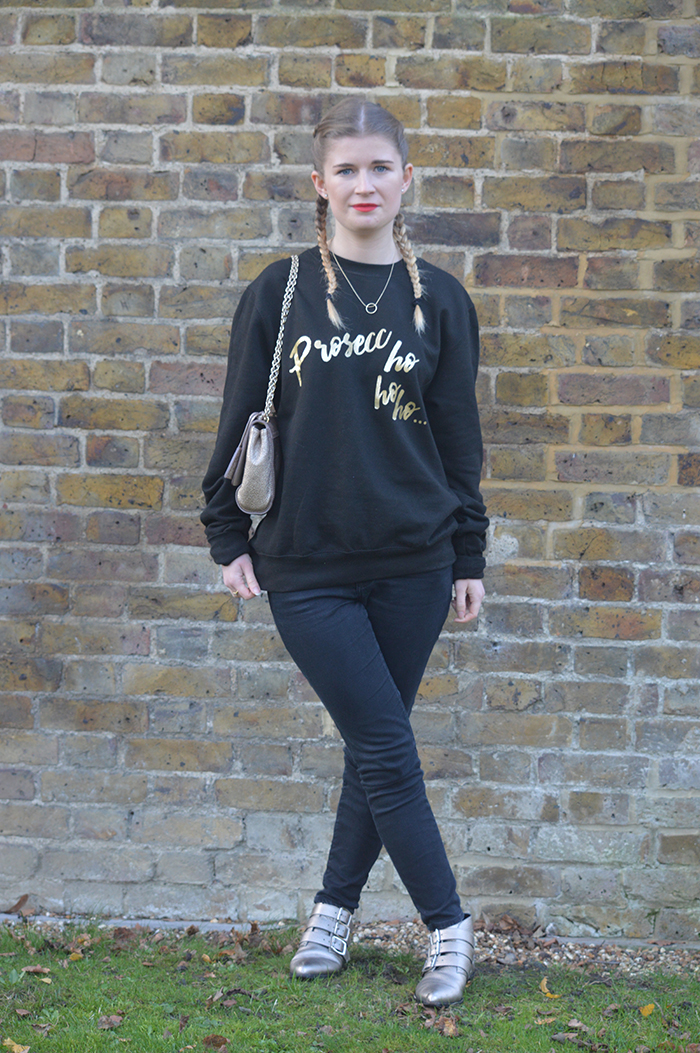 wild things christmas jumper fashion bloggers