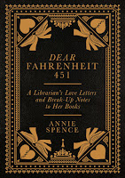 Dear Fahrenheit 451 by Annie Spence book cover