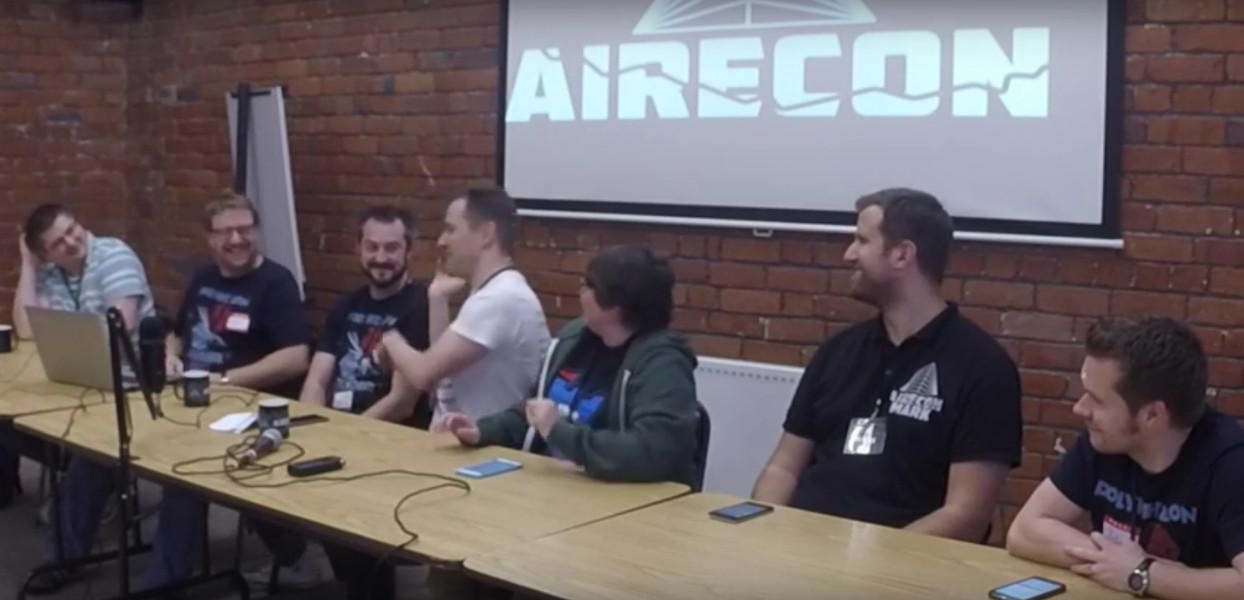 airecon board game media panel