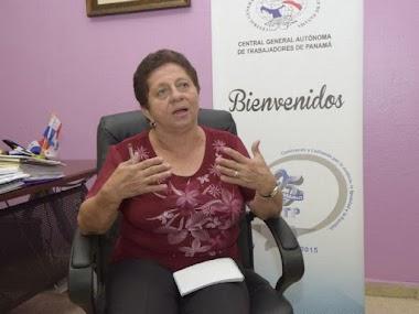 Entrevista a Nelva Reyes Barahona Sec. General de la CGTP sobre Participación de la Mujer en la Política Panameña