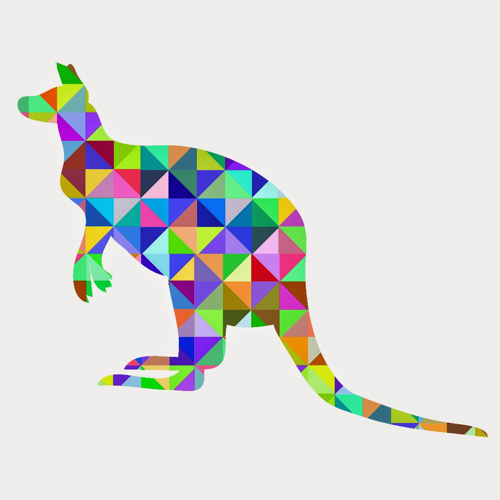 Geometric Animal Printables Knock Off Art