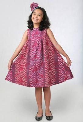 Baju Batik Anak Perempuan Terbaru
