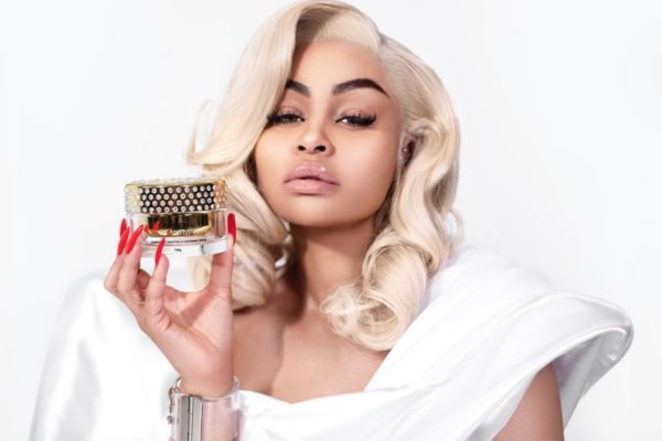 American model Blac Chyna in Nigeria to launch a whitening cream she does not use