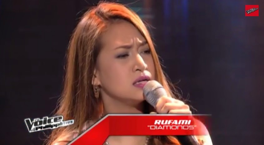 Rufa Mi sings 'Diamonds' on 'Voice PH' Blind Auditions