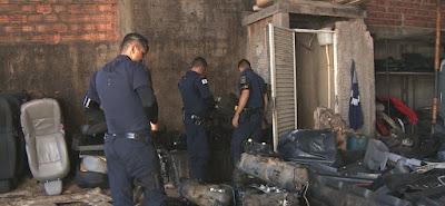 Guarda Municipal descobre desmanche e três marginais são presos em Campinas