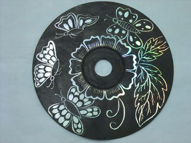 cd dvd art diy