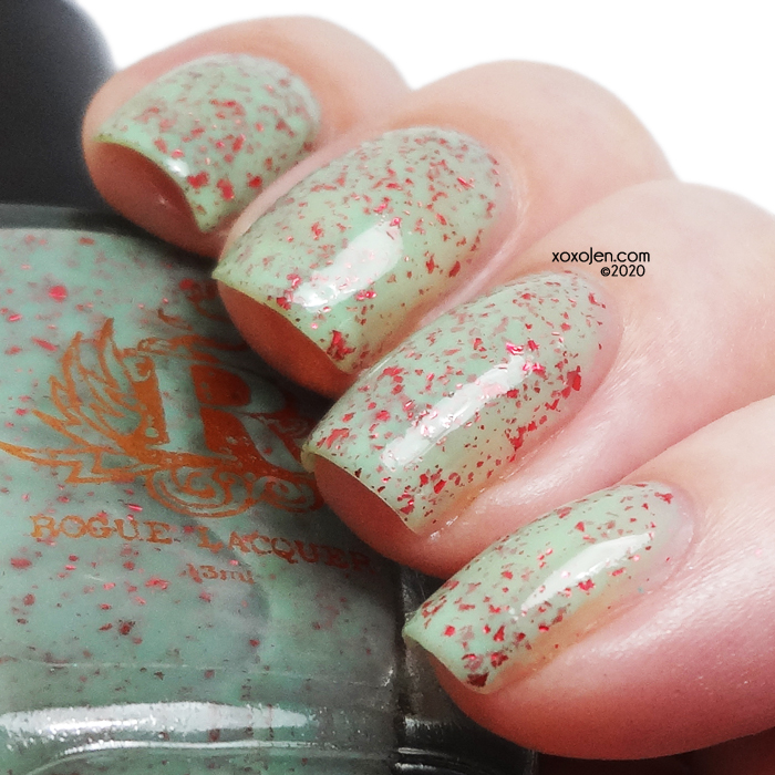 xoxoJen's swatch of Rogue Lacquer One In A Melon