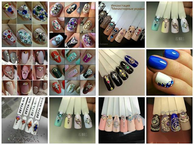 nail art russa con gioielli_05
