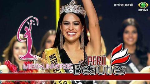 Miss Universe Brazil 2018
