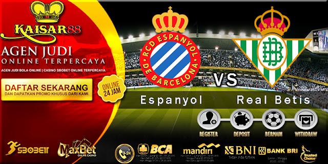 Prediksi Espanyol vs Real Betis 31 Oktober 2017