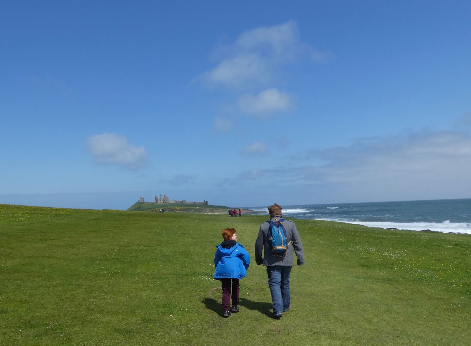 A Guide to The Best Family Days Out in the North East including the walk from Craster to Dunstanburgh Castle