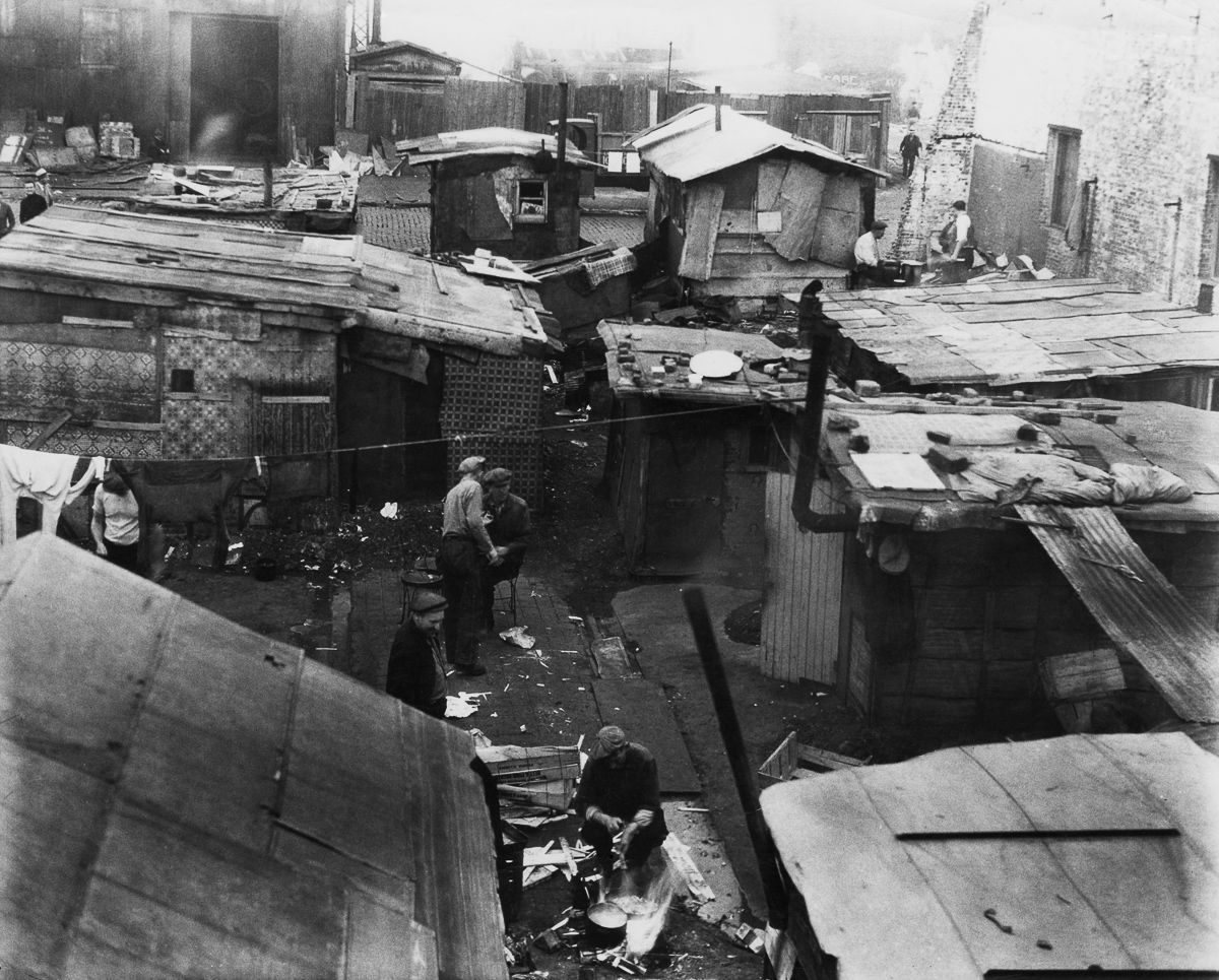 Great Depression Hoovervilles