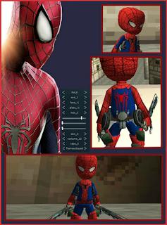 attack on titan tribute game spiderman skin