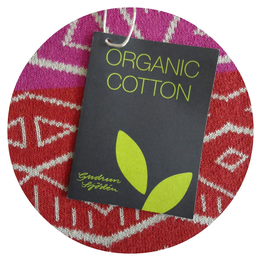 Organic cotton is a natural, renewable and biodegradable fibre ♥