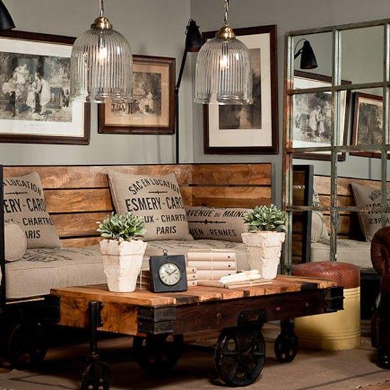 urban rustic furniture. Urban Rustic Living Room Decor Ideas Tracy Collin Blog Furniture B