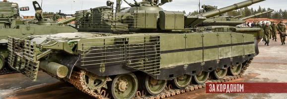Російські Т-80БВМ отримають уранові боєприпаси