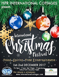 International Christmas Festival 2017 flyer