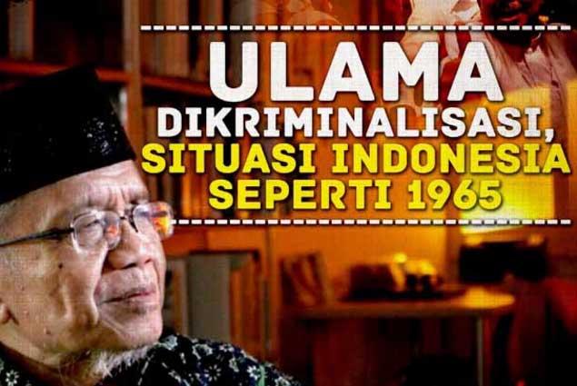Taufiq Ismail Situasi itu mirip dengan gaya PKI jelang tahun 1965