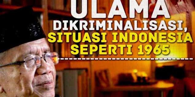 Taufiq Ismail: Kriminalisasi Ulama Saat ini Mirip Gaya PKI Tahun 1965