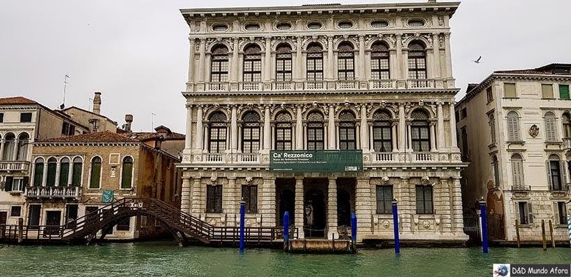 Ca Rezzonico - O que fazer em Veneza