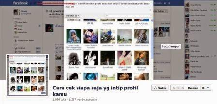 Hati-Hati Dengan Aplikasi Intip Profile Teman di Facebook