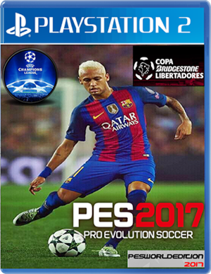 PES World Edition 2017 LIBERTADORES VS CHAMPIONS LEAGUE