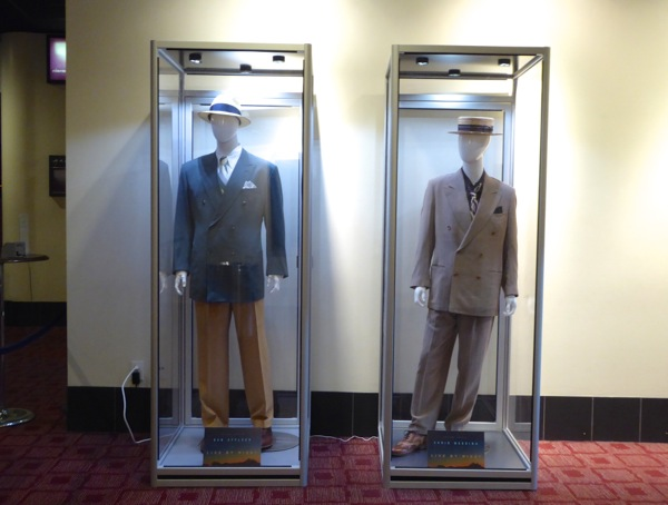 Live By Night movie costume exhibit