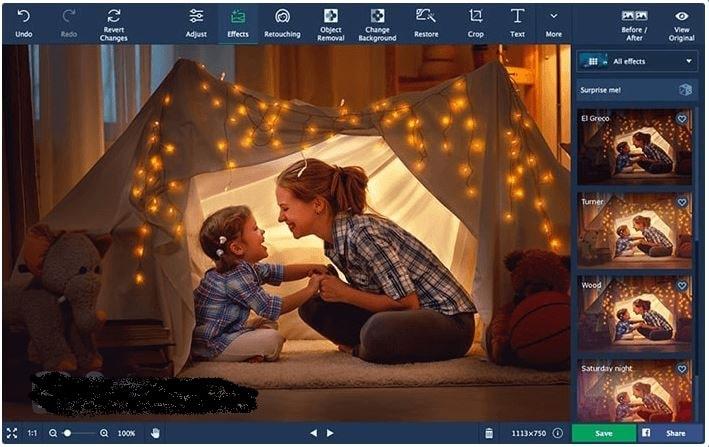 برنامج لتعديل وتحسين الصور الشخصية Movavi Photo Editor أحدث إصدار