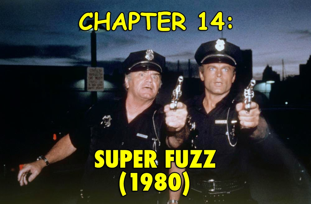 Super Fuzz 1980 Terence Hill Ernest Borgnine superhero movies