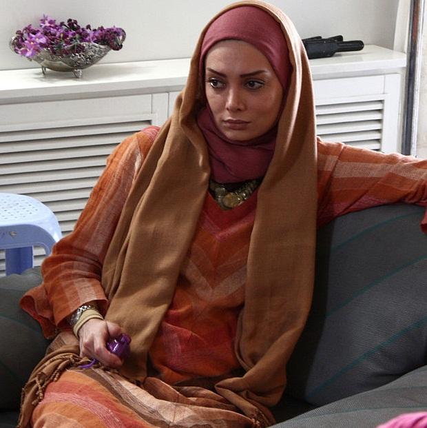Negar Foroozandeh Iranian actress