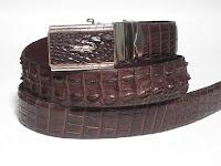 thắt lưng da cá sấu L08