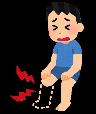 幻肢痛のイラスト
